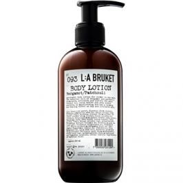 L:A Bruket Body testápoló tej bergamottal és pacsulival  250 ml