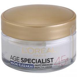 L'Oréal Paris Age Specialist 45+ éjszakai krém a ráncok ellen  50 ml