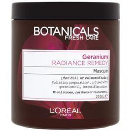 L'Oréal Paris Botanicals Radiance Remedy maszk festett hajra Geranium 200 ml