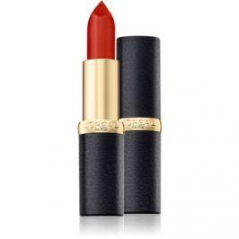 L'Oréal Paris Color Riche Matte hidratáló rúzs matt hatással árnyalat 348 Brick Vintage 3,6 g