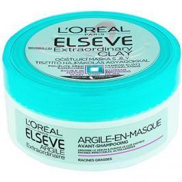 L'Oréal Paris Elseve Extraordinary Clay tisztító maszk a gyorsan zsírosodó hajra  150 ml