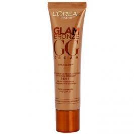 L'Oréal Paris Glam Bronze GG Cream bronzosító krém az arcra 5 in 1 árnyalat Universelle (SPF 25) 30 ml