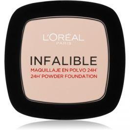L'Oréal Paris Infallible fixáló púder árnyalat 123 Warm Vanilla 9 g