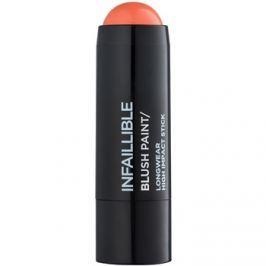 L'Oréal Paris Infallible Paint Chubby krémes arcpirosító árnyalat Tangerine Please 7 g