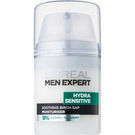 L'Oréal Paris Men Expert Hydra Sensitive nyugtató és hidratáló krém az érzékeny arcbőrre  50 ml