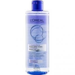 L'Oréal Paris Micellar Water kétfázisú micelláris víz minden bőrtípusra, beleértve az érzékeny bőrt is  400 ml