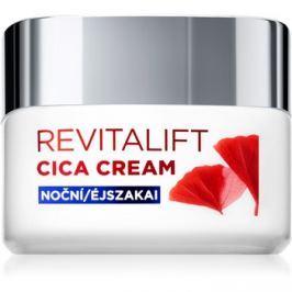 L'Oréal Paris Revitalift Cica Cream éjszakai krém a ráncok ellen  50 ml