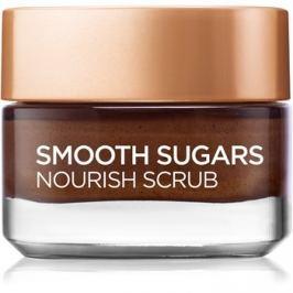 L'Oréal Paris Smooth Sugars Scrub tápláló és feltöltő peeling az arcra  50 ml