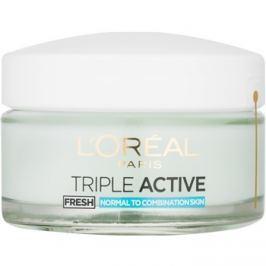 L'Oréal Paris Triple Activ Fresh géles krém normál és kombinált bőrre  50 ml