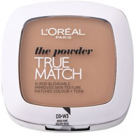 L'Oréal Paris True Match kompakt púder árnyalat 3D/3W Golden Beige 9 g