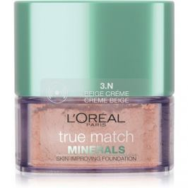 L'Oréal Paris True Match Minerals púderes make-up árnyalat 3.N Creme Beige 10 g