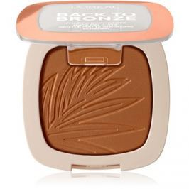 L'Oréal Paris Wake Up & Glow Back to Bronze bronzosító árnyalat 02 Sunkiss 9 g
