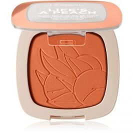 L'Oréal Paris Wake Up & Glow Life's a Peach arcpirosító árnyalat 01 Peach Addict 9 g