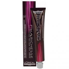 L'Oréal Professionnel Dia Richesse félig állandó hajfesték ammónia nélkül árnyalat 7.8 Moka Latte 50 ml