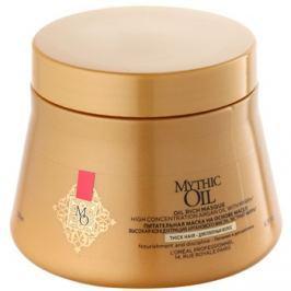 L'Oréal Professionnel Mythic Oil tápláló maszk dús és rakoncátlan hajra parabénmentes  200 ml