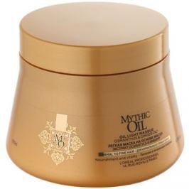 L'Oréal Professionnel Mythic Oil gyengéd olajos maszk normál és gyengéd hajra parabénmentes és szilikonmentes  200 ml