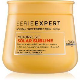 L'Oréal Professionnel Série Expert Solar Sublime tápláló maszk nap által károsult haj  250 ml