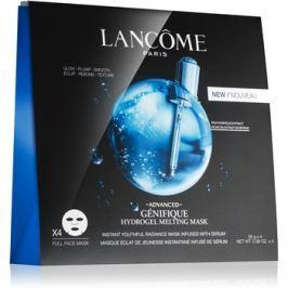 Lancôme Génifique Advanced fiatalító és élénkítő maszk hidratáló hatással Hydrogel Melting Mask 4 x 28 g