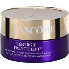 Lancôme Rénergie French Lift éjszakai krém masszázs koronggal  50 ml