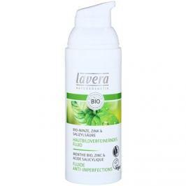 Lavera Faces Bio Mint hidratáló fluid zsíros bőrre  50 ml