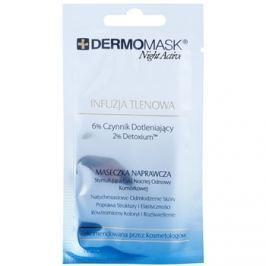L'biotica DermoMask Night Active oxigenizáló maszk  12 ml