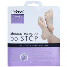 L'biotica Masks bőrhámlasztó zokni a láb bőrének puhítására és hidratálására  40 ml