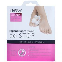 L'biotica Masks regeneráló lábmaszk zokniban   32 ml