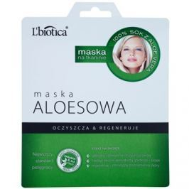 L'biotica Masks Aloe Vera arcmaszk regeneráló hatással  23 ml