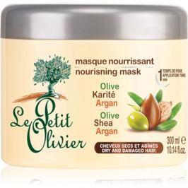 Le Petit Olivier Olive, Shea & Argan tápláló hajmaszk  300 ml