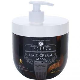 Leganza Hair Care krémes maszk keratinnal  1000 ml