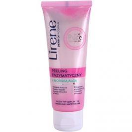 Lirene Algae Pure enzimatikus peeling Érzékeny, bőrpírra hajlamos bőrre  75 ml
