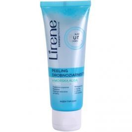 Lirene Algae Pure finoman tisztító peeling kisimító hatással  75 ml