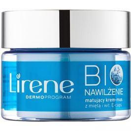 Lirene Bio Hydration hidratáló krém mattító hatással kombinált és zsíros bőrre  50 ml