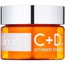 Lirene C+D Pro Vitamin Energy hidratáló krémes gél bőrélénkítő hatással 30+  50 ml