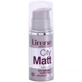 Lirene City Matt mattító make-up folyadék kisimító hatással árnyalat 204 Natural  30 ml