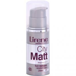 Lirene City Matt mattító make-up folyadék kisimító hatással árnyalat 203 Light  30 ml