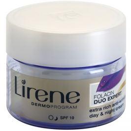 Lirene Folacin Duo Expert 60+ intenzív ránctalanító krém SPF 10  50 ml