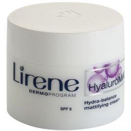 Lirene HyaluroMat mattító krém hialuronsavval SPF 6  50 ml