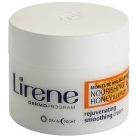 Lirene Moisture & Nourishment fiatalító és kisimító krém mézzel és citrommal  50 ml
