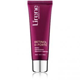 Lirene Retinol D-Forte tápláló és feszesítő maszk arcra, nyakra és dekoltázsra  50 ml