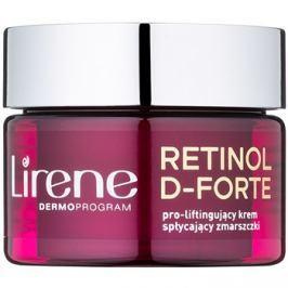 Lirene Retinol D-Forte 50+ ráncellenes nappali krém lifting hatással  50 ml