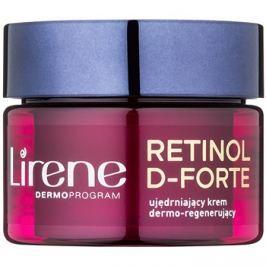 Lirene Retinol D-Forte 60+ feszesítő éjszakai krém regeneráló hatással  50 ml