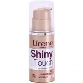 Lirene Shiny Touch bőrvilágosító make-up fluid 16 h árnyalat 104 Natural (SPF 8) 30 ml