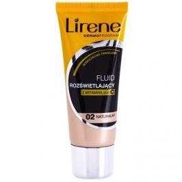 Lirene Vitamin C bőrvilágosító make-up fluid a hosszan tartó hatásért árnyalat 02 Natural 30 ml