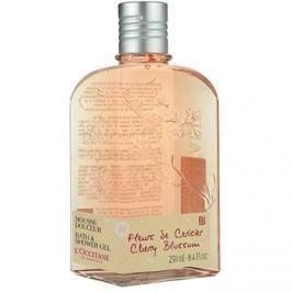 L'Occitane Fleurs de Cerisier tusfürdő gél  250 ml