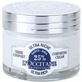 L'Occitane Karité tápláló és nyugtató arckrém  50 ml