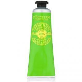 L'Occitane Shea Butter kézkrém lime illattal  30 ml