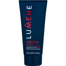 Lumene Men Voima [Uplift] energetizáló sampon és tisztító gél 2 az 1-ben  200 ml