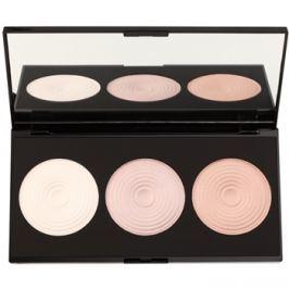 Makeup Revolution Beyond Radiance bőrvilágosító paletta tükörrel  15 g