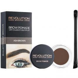 Makeup Revolution Brow Pomade szemöldök pomádé árnyalat Ash Brown 2,5 g